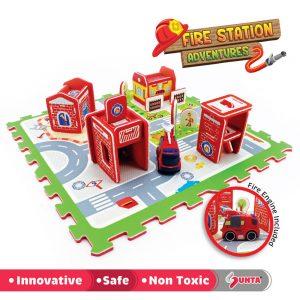 Kiyo-Baby-Malaysia-EVAFoammat-Educational-Toys-Playmat-DIY-PrintedPuzzleMat-FireStation-Adventure-01